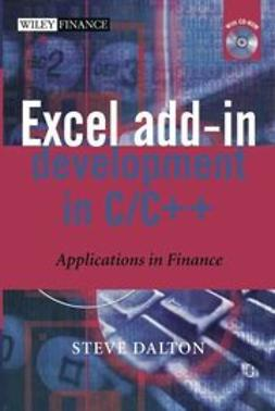 Dalton, Steve - Financial Applications using Excel Add-in Development in C/C++, ebook