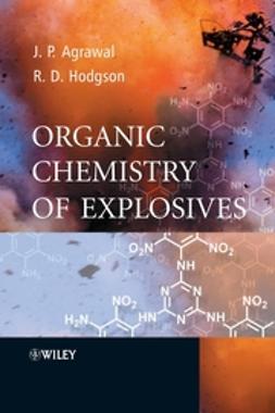 Agrawal, Jai Prakash - Organic Chemistry of Explosives, ebook