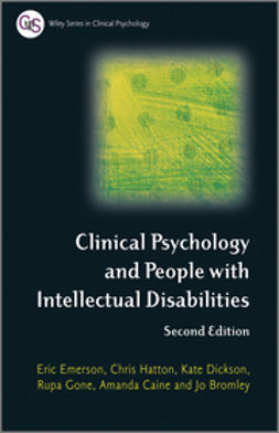 Bromley, Jo - Clinical Psychology and People with Intellectual Disabilities, ebook