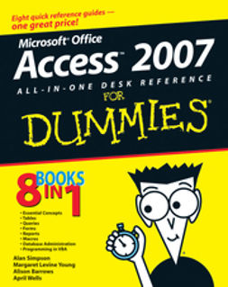 Barrows, Alison - Microsoft Office Access 2007 All-in-One Desk Reference For Dummies, ebook