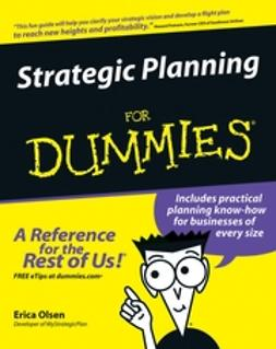 Olsen, Erica - Strategic Planning For Dummies, ebook