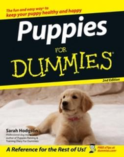 Hodgson, Sarah - Puppies For Dummies, ebook