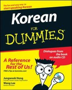 Hong, Jungwook - Korean For Dummies, ebook
