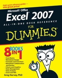 Harvey, Greg - Excel 2007 All-In-One Desk Reference For Dummies, ebook