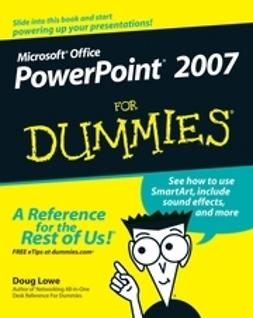 Lowe, Doug - PowerPoint 2007 For Dummies, ebook