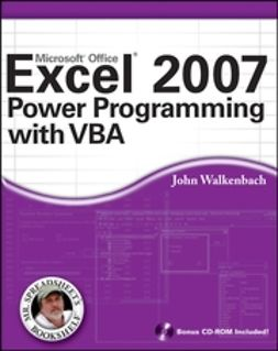 Walkenbach, John - Excel 2007 Power Programming with VBA, ebook