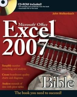 Walkenbach, John - Excel 2007 Bible, ebook