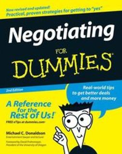 Donaldson, Michael C. - Negotiating For Dummies, ebook