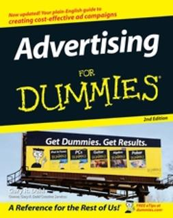 Dahl, Gary - Advertising For Dummies, ebook
