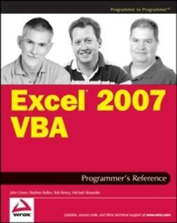 Alexander, Michael - Excel 2007 VBA Programmer's Reference, e-kirja