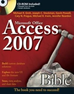 Groh, Michael R. - Access 2007 Bible, ebook