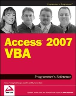 Cooper, Rob - Access 2007 VBA Programmer's Reference, ebook