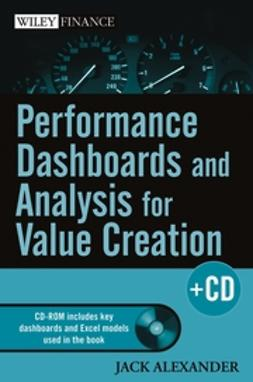 Alexander, Jack - Performance Dashboards and Analysis for Value Creation, ebook