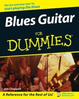 Chappell, Jon - Blues Guitar For Dummies, ebook