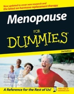Jones, Marcia L. - Menopause For Dummies, ebook