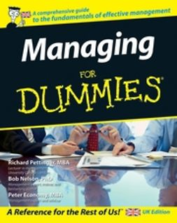 Pettinger, Richard - Managing For Dummies, e-kirja