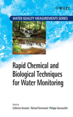 Gonzalez, Catherine - Rapid Chemical and Biological Techniques for Water Monitoring, ebook