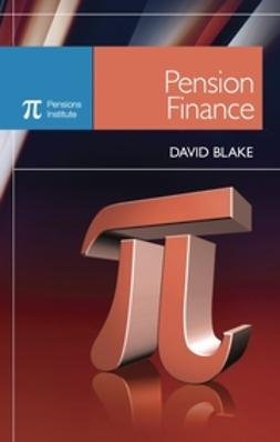 Blake, David - Pension Finance, e-bok