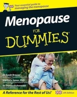 Brewer, Sarah - Menopause For Dummies<sup>&#174;</sup>, e-kirja