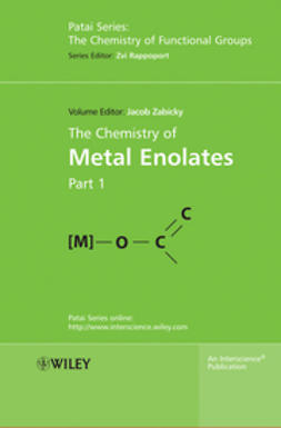 Zabicky, Jacob - The Chemistry of Metal Enolates, ebook