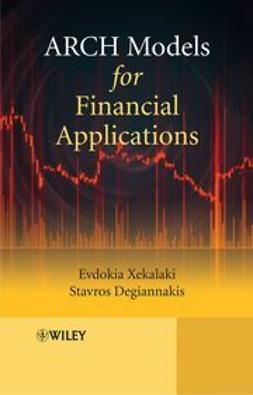 Xekalaki, Evdokia - ARCH Models for Financial Applications, ebook
