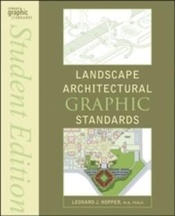 Hopper, Leonard J. - Landscape Architectural Graphic Standards, e-kirja
