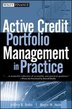 Bohn, Jeffrey R. - Active Credit Portfolio Management in Practice, ebook