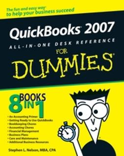 Nelson, Stephen L. - QuickBooks 2007 All-in-One Desk Reference For Dummies, ebook