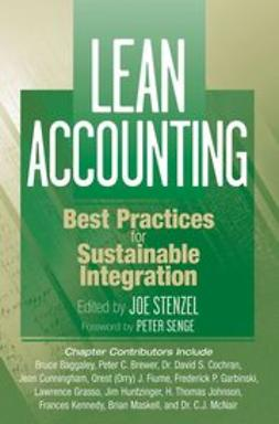 Stenzel, Joe - Lean Accounting: Best Practices for Sustainable Integration, ebook