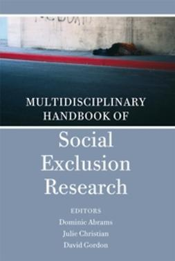 Abrams, Dominic - Multidisciplinary Handbook of Social Exclusion Research, ebook