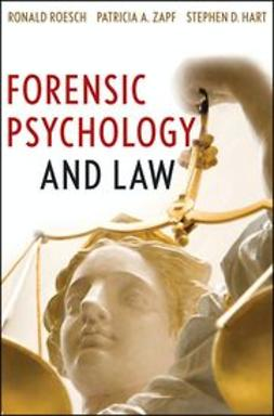Roesch, Ronald - Forensic Psychology and Law, ebook