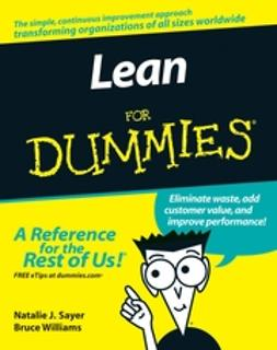 Sayer, Natalie J. - Lean For Dummies, ebook