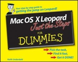 Underdahl, Keith - Mac OS X Leopard Just the Steps For Dummies, ebook