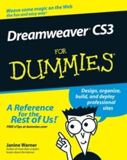 Warner, Janine C. - Dreamweaver CS3 For Dummies, e-kirja