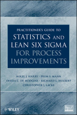 Harry, Mikel J. - Practitioner's Guide to Statistics and Lean Six Sigma for Process Improvements, e-kirja