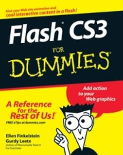Finkelstein, Ellen - Flash CS3 For Dummies, e-bok