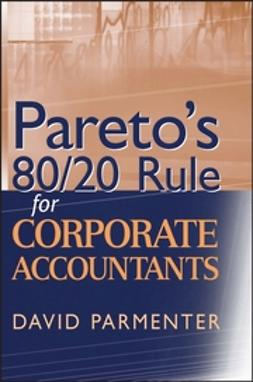 Parmenter, David - Pareto's 80/20 Rule for Corporate Accountants, ebook