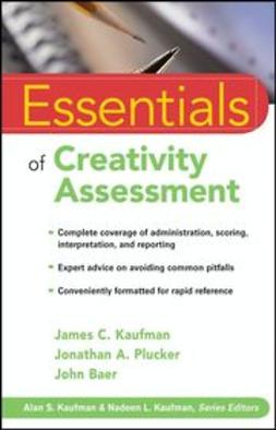 Kaufman, James C. - Essentials of Creativity Assessment, ebook