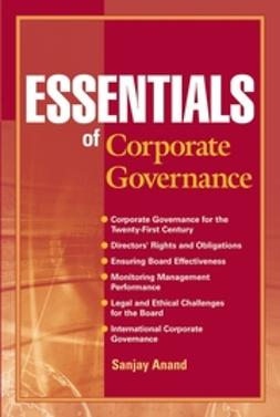 Anand, Sanjay - Essentials of Corporate Governance, ebook