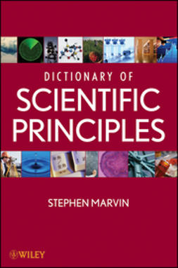 Marvin, Stephen - Dictionary of Scientific Principles, ebook