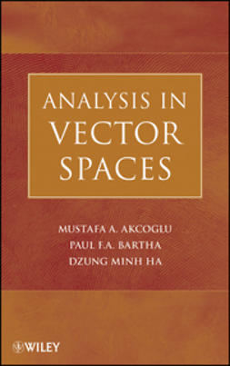 Akcoglu, Mustafa A. - Analysis in Vector Spaces, ebook