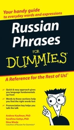 Gettys, Serafima - Russian Phrases For Dummies, ebook