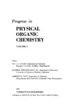 Cohen, Saul G. - Progress in Physical Organic Chemistry, ebook