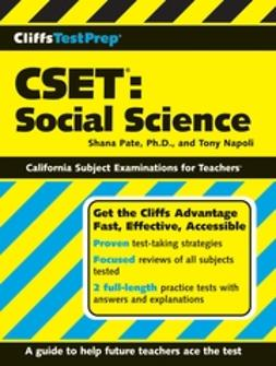Napoli, Tony - CliffsTestPrep CSET: Social Science, ebook