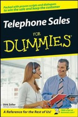 Zeller, Dirk - Telephone Sales For Dummies, ebook