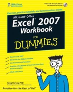 Harvey, Greg - Excel 2007 Workbook For Dummies, ebook