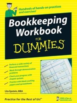 Epstein, Lita - Bookkeeping Workbook For Dummies, ebook