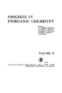 Cotton, F. Albert - Progress in Inorganic Chemistry, ebook