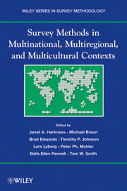 Harkness, Janet A. - Survey Methods in Multicultural, Multinational, and Multiregional Contexts, ebook