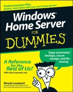 Leonhard, Woody - Windows Home Server For Dummies, ebook